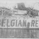 The Imo after the explosion